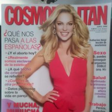 Coleccionismo de Revistas y Periódicos: COSMOPOLITAN -ABRIL 2008 - CON KATHERINE HEIGL --REFM1E5DE. Lote 85858120