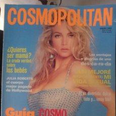 Coleccionismo de Revistas y Periódicos: COSMOPOLITAN - ENERO 1992 - CON ARTICULO SOBRE JULIA ROBERTS --REFM1E5DE. Lote 85859024
