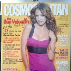 Coleccionismo de Revistas y Periódicos: COSMOPOLITAN - FEBRERO 2008 - CON JESSICA ALBA --REFM1E5DE. Lote 85859664