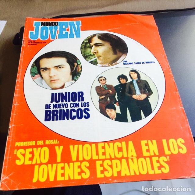 REVISTA MUNDO JOVEN NÚM 107 (Coleccionismo - Revistas y Periódicos Modernos (a partir de 1.940) - Otros)
