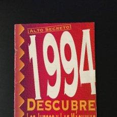 Coleccionismo de Revistas y Periódicos: SUPLEMENTO HOBBY CONSOLAS NOVEDADES 1994. MEGA DRIVE, SUPER NINTENDO, GAME GEAR, MEGA CD, ETC. Lote 85920104