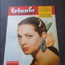Coleccionismo de Revistas y Periódicos: SARA MONTIEL REVISTA ESPAÑOLA TRIUNFO SEPTIEMBRE 1959. Lote 86143088