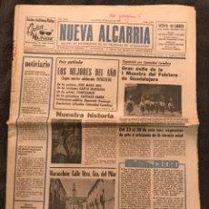 """Coleccionismo de Revistas y Periódicos: NUEVA ALCARRIA""""EL PERIÓDICO DELA PROVINCIA""""A.1981. Lote 86161691"""