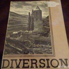 Coleccionismo de Revistas y Periódicos: REVISTA DIVERSION ANTIGUA--ANDORRA. Lote 86162660