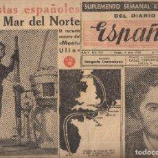 Coleccionismo de Revistas y Periódicos: VESIV SUPLEMENTO SEMANAL ILUSTRADO DEL DIARIO ESPAÑA TANGER Nº212 5 JULIO 1953. Lote 86263120
