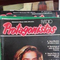 Coleccionismo de Revistas y Periódicos: RADIO PROTAGONISTAS N 6, GARCIA TOLA, SARA MONTIEL, ELENA FRANCIS ERAS TU. Lote 86285688