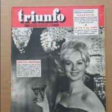 Coleccionismo de Revistas y Periódicos: MYLENE DEMONGEOT - RASPUTIN EN REVISTA TRIUNFO 1959. Lote 86383208