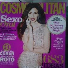 Coleccionismo de Revistas y Periódicos: COSMOPOLITAN - DICIEMBRE 2013 - CON PAZ VEGA -REFM1E5DETCEN. Lote 86385756