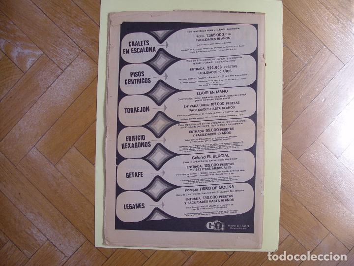Coleccionismo de Revistas y Periódicos: Periódico YA (25-XI-1975) Entierro Franco, Valle de los Caídos. ¡Periódico histórico! Coleccionista - Foto 2 - 86457380