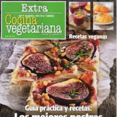 Coleccionismo de Revistas y Periódicos: COCINA VEGETARIANA EXTRA N. 10 - GUIA PRACTICA Y RECETAS: LOS MEJORES POSTRES (NUEVA). Lote 86474244