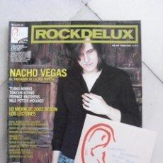 Coleccionismo de Revistas y Periódicos: REVISTA ROCK DE LUX Nº 205. NACHO VEGAS. MARZO 2003 + CD LAS 18 MEJORES CANCIONES DE 2002.... Lote 86512384