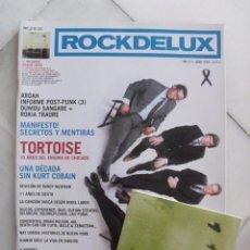 Coleccionismo de Revistas y Periódicos: REVISTA ROCK DE LUX Nº 217. ABRIL 2004. TORTOISE + CD GREEN UFOS.. Lote 86514928