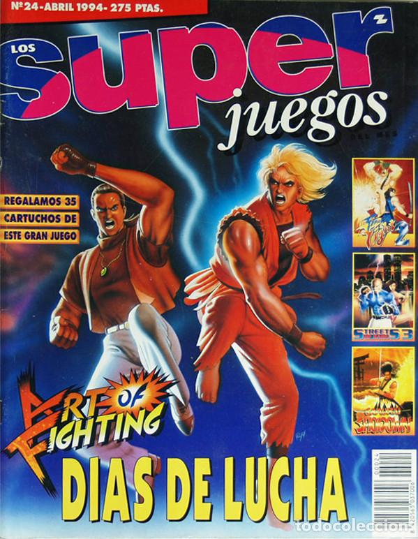 REVISTA SUPER JUEGOS NÚMERO 24 - ABRIL 1994. (Coleccionismo - Revistas y Periódicos Modernos (a partir de 1.940) - Otros)
