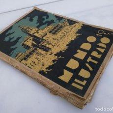 Coleccionismo de Revistas y Periódicos: MUNDO ILUSTRADO - REVISTA DE LA PROVINCIA DE MÁLAGA - 1944 - MUY MUY DIFÍCIL DE CONSEGUIR. Lote 86627488