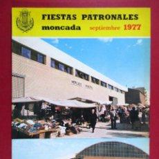 Sammeln von Zeitschriften und Zeitungen - MONCADA, REVISTA PROGRAMA DE FIESTAS PATRONALES 1977, VALENCIA - FB29 - 86732564