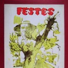 Coleccionismo de Revistas y Periódicos: PICASSENT, REVISTA PROGRAMA DE FIESTAS 1978, VALENCIA - FB37. Lote 86732972