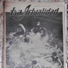 Coleccionismo de Revistas y Periódicos: ACTUALIDAD, LA (REVISTA GRÁFICA) Nº157 SUPLEMENTO 5-8-1909. Lote 86763516