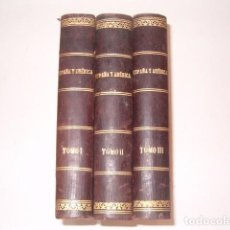 """Coleccionismo de Revistas y Periódicos: REVISTA QUINCENAL """"ESPAÑA Y AMÉRICA"""". AÑO CUARTO. 1906. TOMOS I, II Y III. TRES TOMOS. RM80919. . Lote 86823800"""