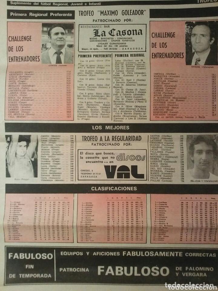 Coleccionismo de Revistas y Periódicos: Suplemento deportivo U.D. BARBASTRO - Foto 2 - 86861380