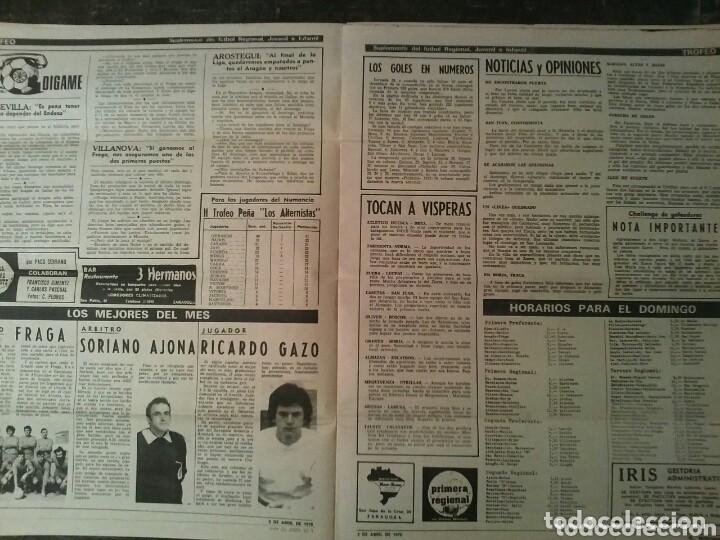 Coleccionismo de Revistas y Periódicos: Suplemento deportivo U.D. BARBASTRO - Foto 3 - 86861380