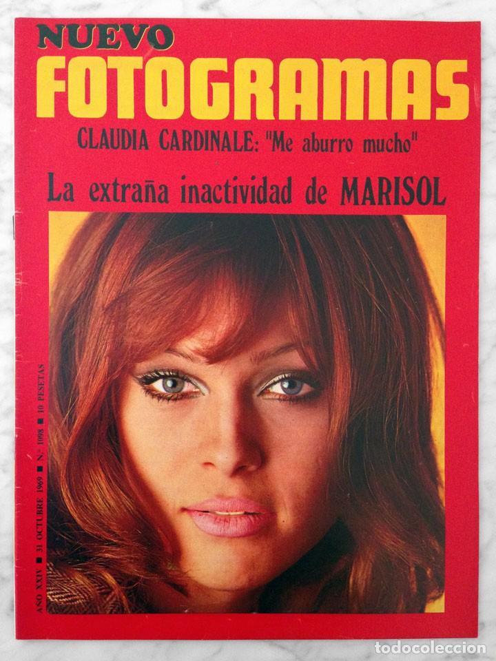 REVISTA FOTOGRAMAS - Nº 1098 - 1969 - MARISOL, CLAUDIA CARDINALE, MÁQUINA!, FRANK SINATRA (Coleccionismo - Revistas y Periódicos Modernos (a partir de 1.940) - Otros)