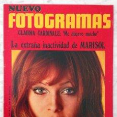 Coleccionismo de Revistas y Periódicos: REVISTA FOTOGRAMAS - Nº 1098 - 1969 - MARISOL, CLAUDIA CARDINALE, MÁQUINA!, FRANK SINATRA. Lote 86929960