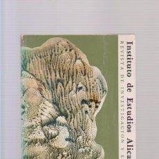 Coleccionismo de Revistas y Periódicos: REVISTA DE INVESTIGACION Y ENSAYOS - Nº 38 / 1983 - INSTITUTO ESTUDIOS ALICANTINOS / ILUSTRADO. Lote 86934068