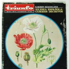 Coleccionismo de Revistas y Periódicos: REVISTA TRIUNFO Nº 494 - 18 DE MARZO DE 1972 - LA CIA Y LA DROGA REV0437. Lote 221745386