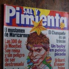 Coleccionismo de Revistas y Periódicos: SAL Y PIMIENTA AÑO III Nº 117, 23 DICIEMBRE 1981. Lote 86981724
