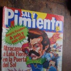 Coleccionismo de Revistas y Periódicos: SAL Y PIMIENTA AÑO III Nº 118, 30 DICIEMBRE 1981. Lote 86982580