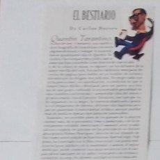 Coleccionismo de Revistas y Periódicos: RECORTE QUENTIN TARANTINO (RP9) 1 FOTO LA REVISTA DE EL MUNDO DE 12 MAYO 1996. Lote 86983340