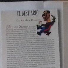 Coleccionismo de Revistas y Periódicos: SHARON STONE EN RECORTE (RP29) 1 FOTO LA REVISTA DE EL MUNDO DE 11 AGOSTO 1996. Lote 86985788