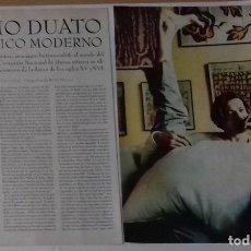 Coleccionismo de Revistas y Periódicos: NACHO DUATO EN RECORTE (RP30) 4 PÁGINA LA REVISTA DE EL MUNDO DE 24 MARZO 1996. Lote 86985992
