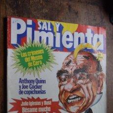 Coleccionismo de Revistas y Periódicos: SAL Y PIMIENTA AÑO III Nº 114, 2 DICIEMBRE 1981. Lote 86990168