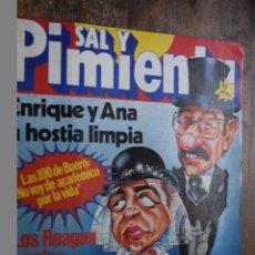Coleccionismo de Revistas y Periódicos: SAL Y PIMIENTA AÑO III Nº 115, 9 DICIEMBRE 1981. Lote 86990960