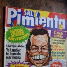 Coleccionismo de Revistas y Periódicos: SAL Y PIMIENTA AÑO III Nº 106, 7 OCTUBRE 1981, ESPECIAL 2º ANIVERSARIO. Lote 86991112