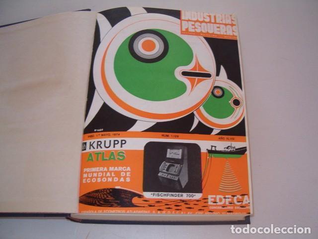 Coleccionismo de Revistas y Periódicos: VV. AA. Industrias Pesqueras. Revista Marítima Quincenal. Año 1974. RM80972. - Foto 2 - 87059456