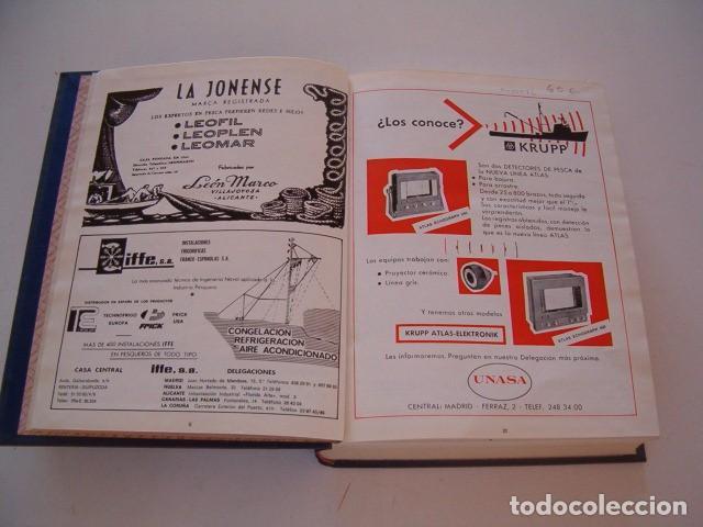 Coleccionismo de Revistas y Periódicos: VV. AA. Industrias Pesqueras. Revista Marítima Quincenal. Año 1974. RM80972. - Foto 3 - 87059456