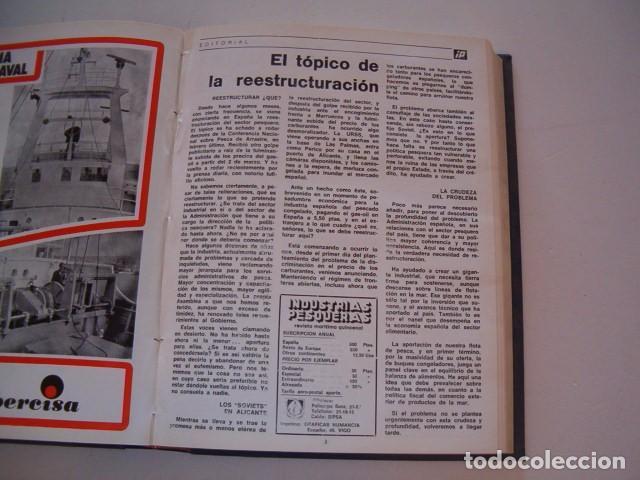 Coleccionismo de Revistas y Periódicos: VV. AA. Industrias Pesqueras. Revista Marítima Quincenal. Año 1974. RM80972. - Foto 4 - 87059456