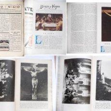 Coleccionismo de Revistas y Periódicos: REVISTA ILUSTRADA BLANCO Y NEGRO, FALTA LAS TAPAS DE LA CUBIERTA 1 ABRIL 1928. Lote 87080072
