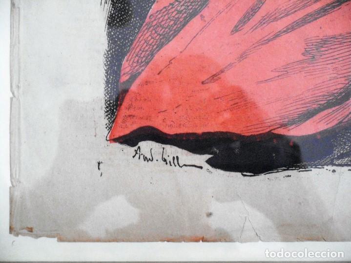 Coleccionismo de Revistas y Periódicos: LA LUNE Nº 79 - 8 SEPTIEMBRE 1867 - PORTADA EL GENERAL PRIM - 33 X 47 CM - Foto 6 - 87142824