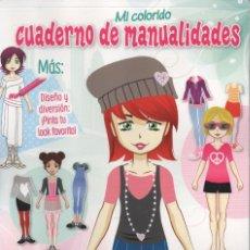 Coleccionismo de Revistas y Periódicos: CUADERNO DE MANUALIDADES N. 17 (NUEVA). Lote 87150824