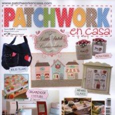 Coleccionismo de Revistas y Periódicos: PATCHWORK EN CASA N. 39 (NUEVA). Lote 164284332