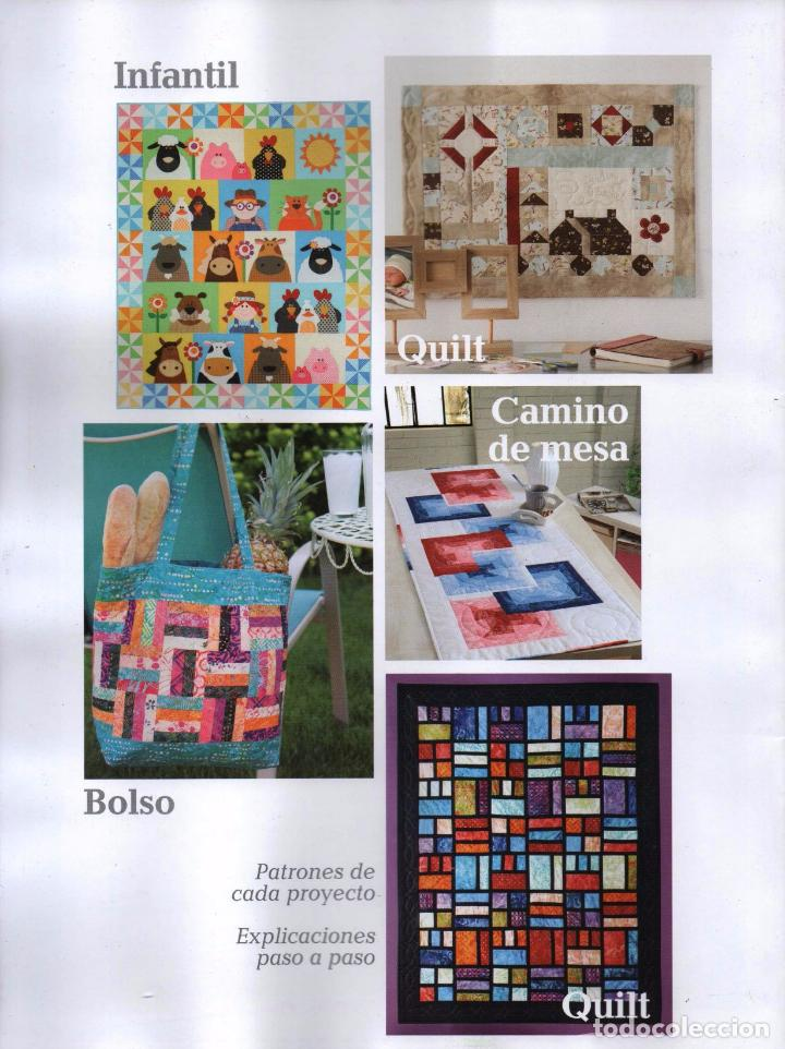 Coleccionismo de Revistas y Periódicos: PATCHWORK EN CASA N. 39 (NUEVA) - Foto 2 - 164284332