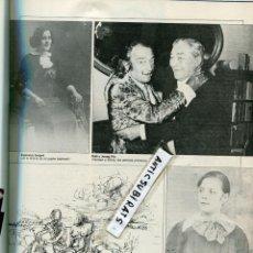 Coleccionismo de Revistas y Periódicos: REVISTA 1982 LAS CARTAS DE AMOR DE SALVADOR DALI JOSEP PLA QUESO DE CABRALES EN BULNES ASTURIAS. Lote 87171304
