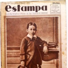 Coleccionismo de Revistas y Periódicos: ESTAMPA, REVISTA GRÁFICA Y LITERARIA. 11 DE JUNIO DE 1932, N.º 231. Lote 87179620