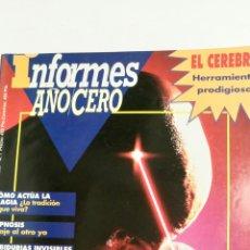 Coleccionismo de Revistas y Periódicos: INFORMES AÑO CERO, PODERES DE LA MENTE.. Lote 87221443