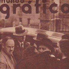Coleccionismo de Revistas y Periódicos: PERIDICO MUNDO GRAFICO 4 DICIEMBRE 1935. Lote 87350596