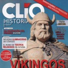 Coleccionismo de Revistas y Periódicos: CLIO HISTORIA N. 187 - EN PORTADA: VIKINGOS (NUEVA). Lote 120739239