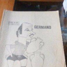 Coleccionismo de Revistas y Periódicos: GERMANO EL MURO DE ALCANTARA - MARCA PAGINAS DE LA 1 A LA 8 - 29 DE JULIO DE 1967. Lote 87386760